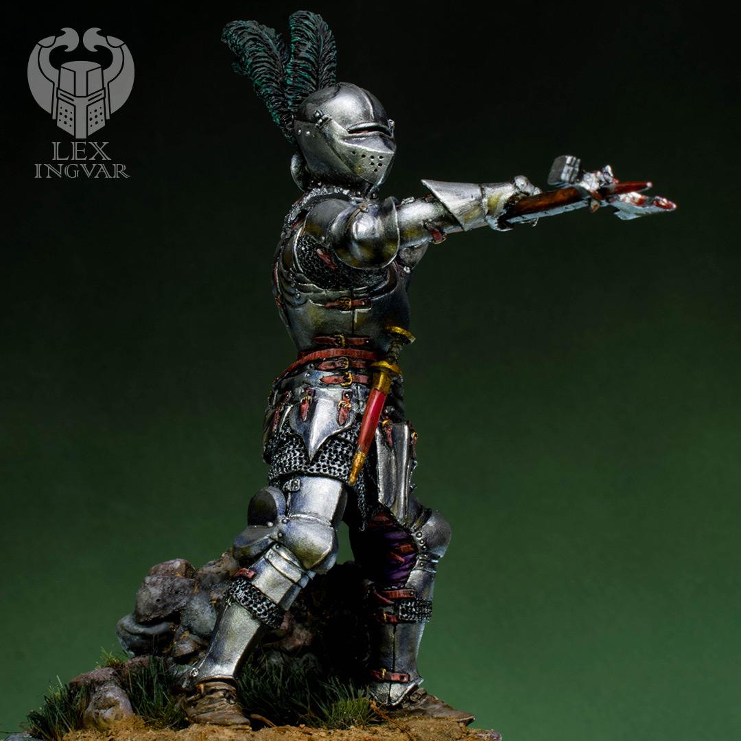Фигурки: Итальянский кондотьер, бургундский рыцарь, фото #6