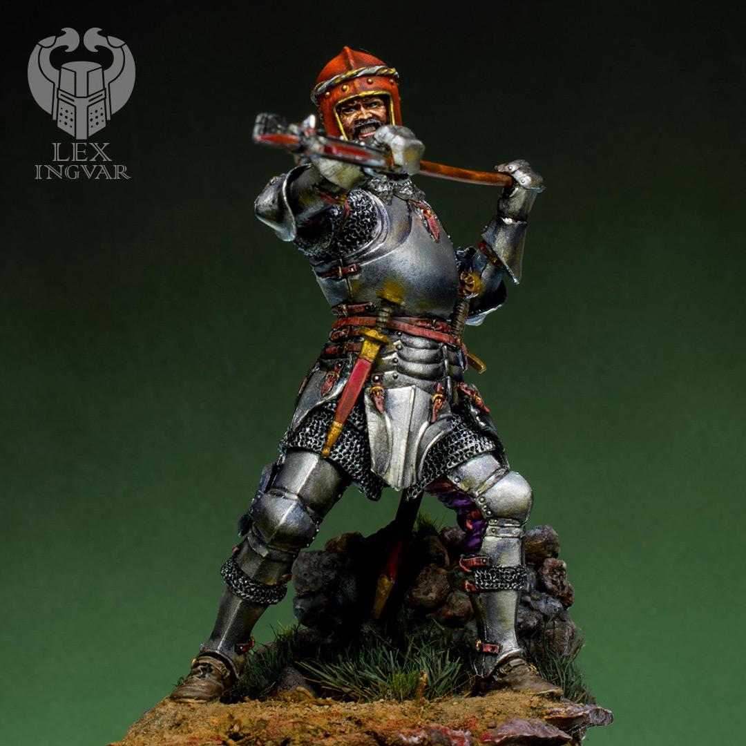 Фигурки: Итальянский кондотьер, бургундский рыцарь, фото #7