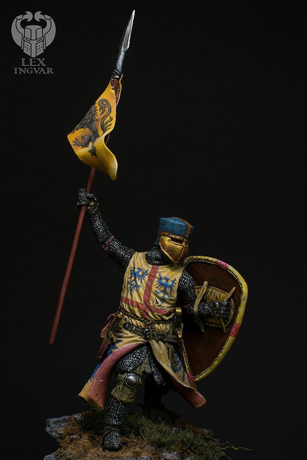 Фигурки: Мэттью II де Монморанси в битве при Бувине, 27 июля 1214 г.
