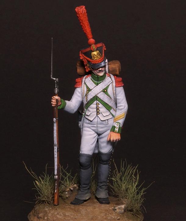 Фигурки: Капрал гренадеров испанского полка Жозефа Наполеона