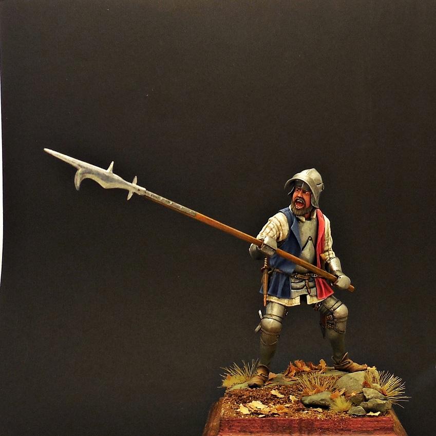 Фигурки: Европейский пехотинец, XV в., фото #1