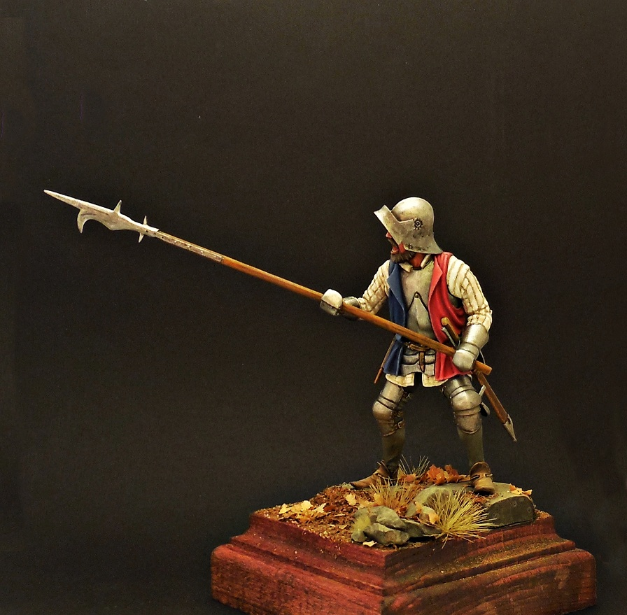 Фигурки: Европейский пехотинец, XV в., фото #3