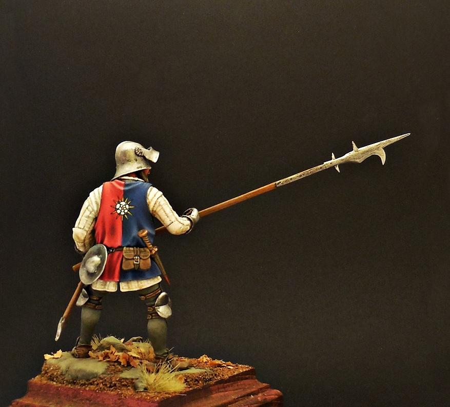 Фигурки: Европейский пехотинец, XV в., фото #7