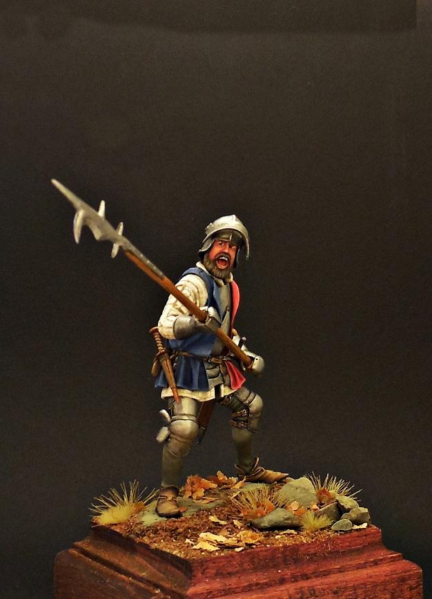 Фигурки: Европейский пехотинец, XV в., фото #9