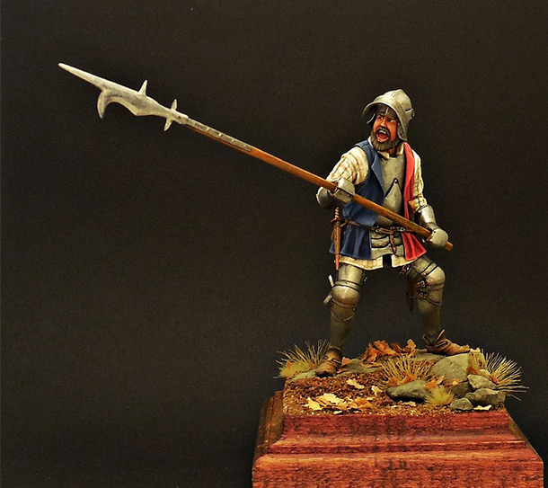 Фигурки: Европейский пехотинец, XV в.