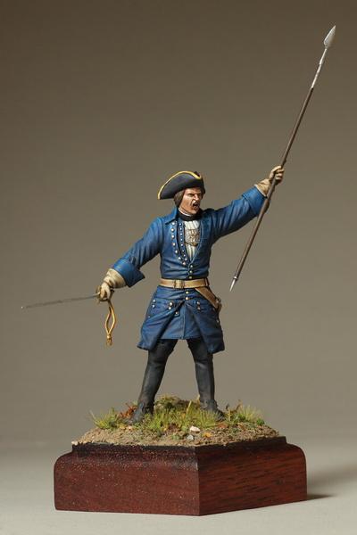 Фигурки: Офицер шведской пехоты. Северная Война, фото #2
