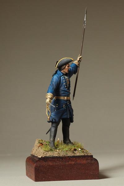 Фигурки: Офицер шведской пехоты. Северная Война, фото #4