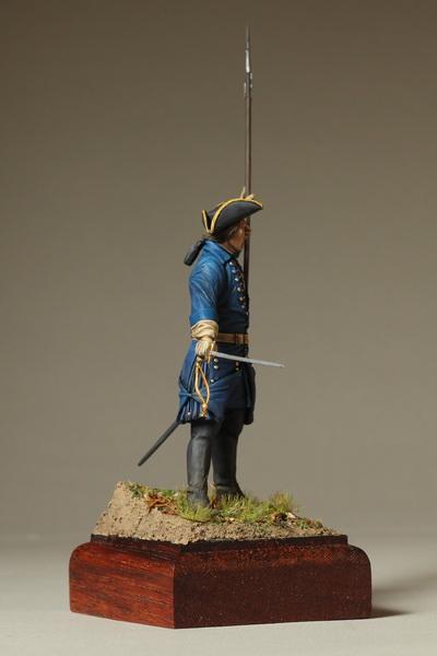 Фигурки: Офицер шведской пехоты. Северная Война, фото #5