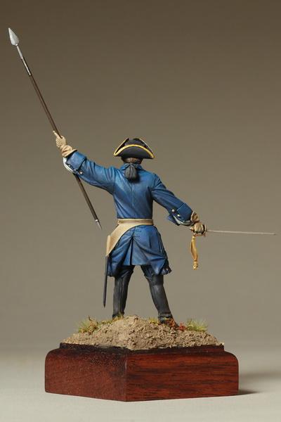 Фигурки: Офицер шведской пехоты. Северная Война, фото #9