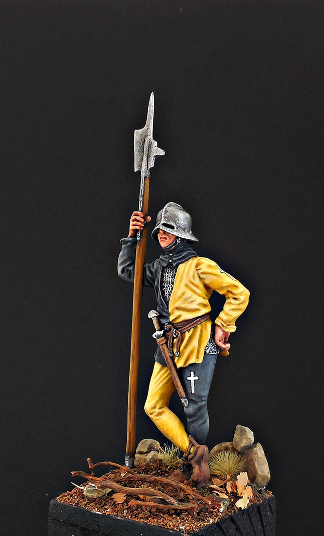 Фигурки: Швейцарский воин, XV в., фото #2