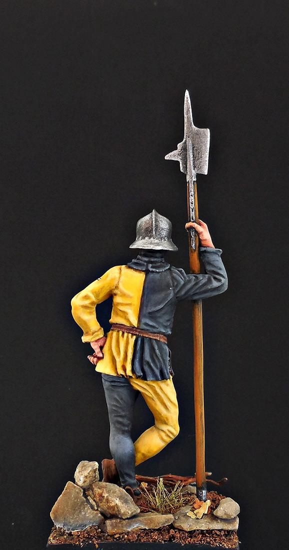 Фигурки: Швейцарский воин, XV в., фото #4