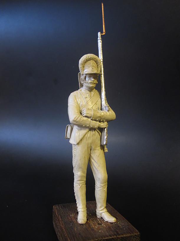 Скульптура: Гренадер, 1788 г.