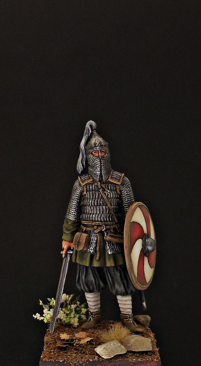 Фигурки: Воин княжеской дружины. Русь, X в., фото #1