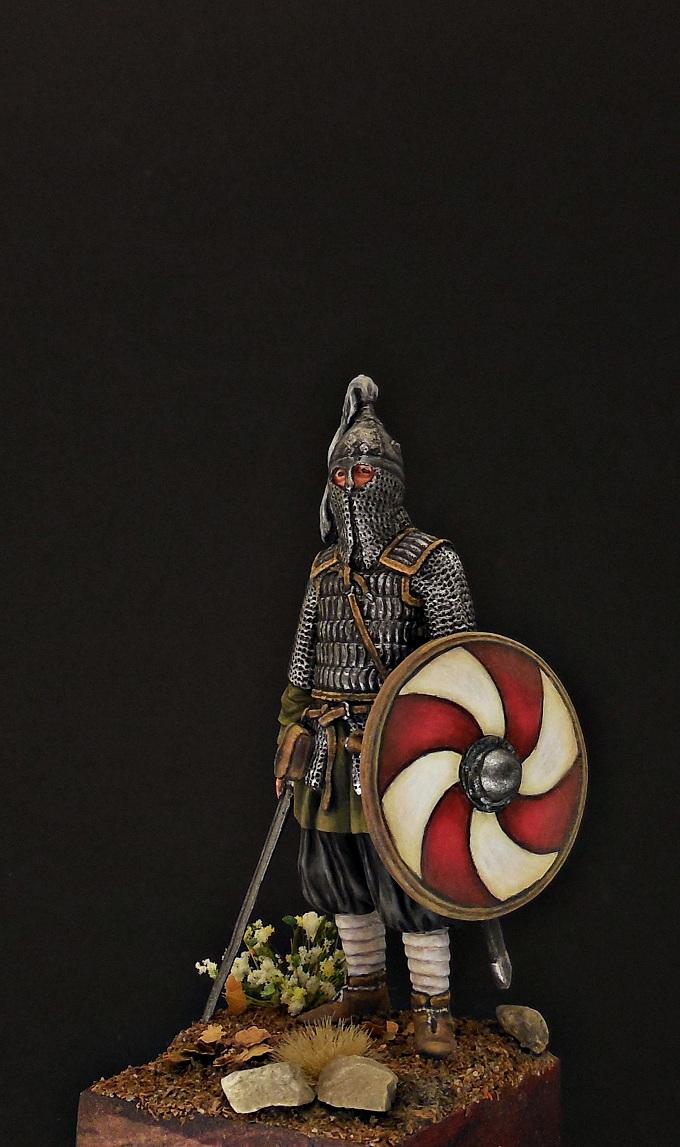 Фигурки: Воин княжеской дружины. Русь, X в., фото #2