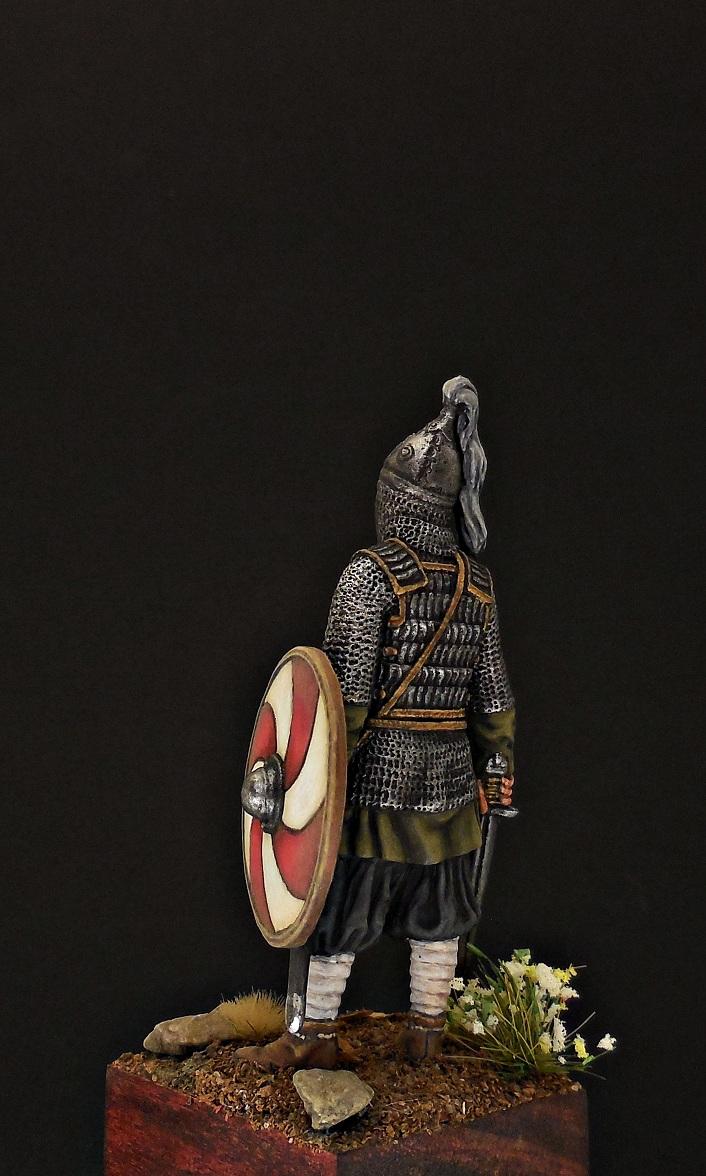 Фигурки: Воин княжеской дружины. Русь, X в., фото #4