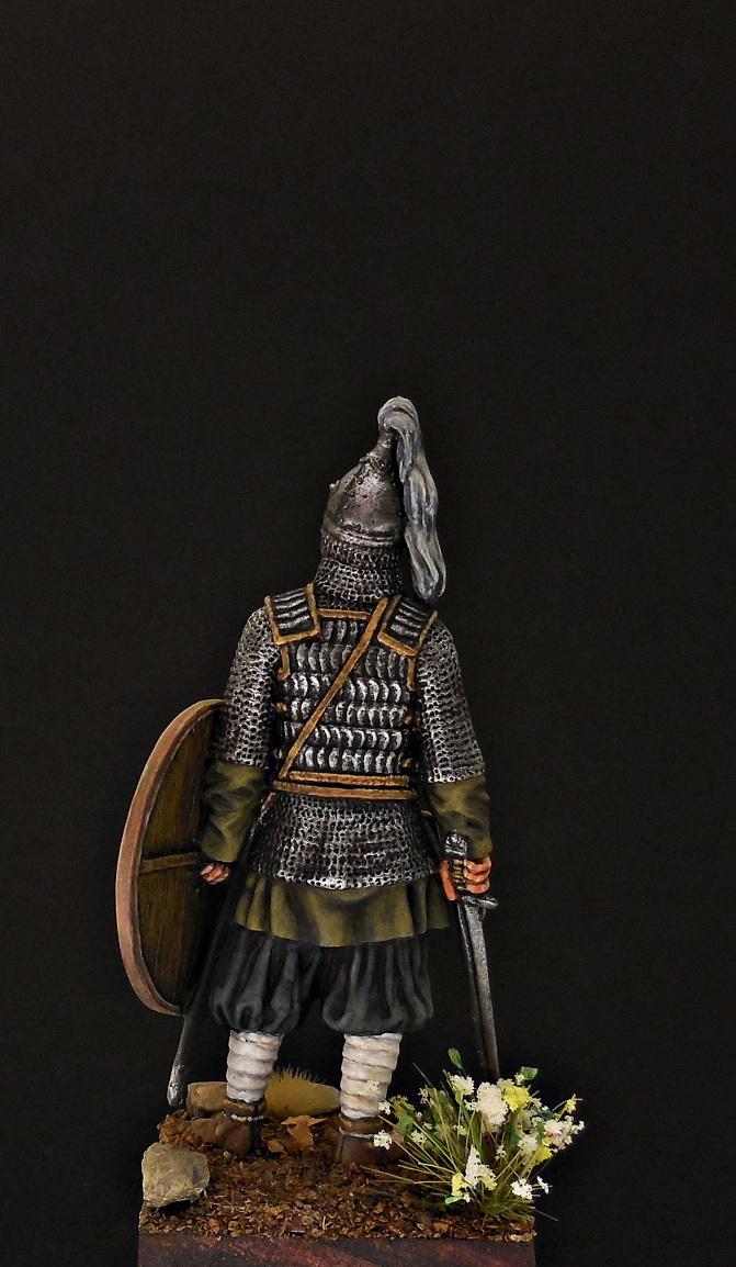 Фигурки: Воин княжеской дружины. Русь, X в., фото #5