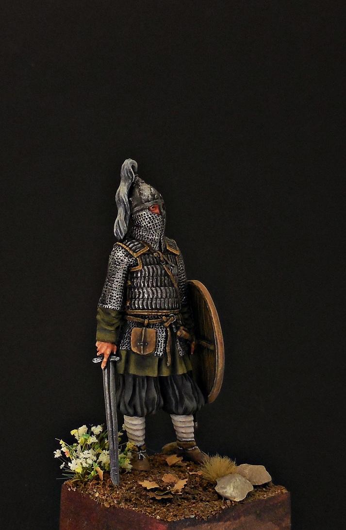 Фигурки: Воин княжеской дружины. Русь, X в., фото #9