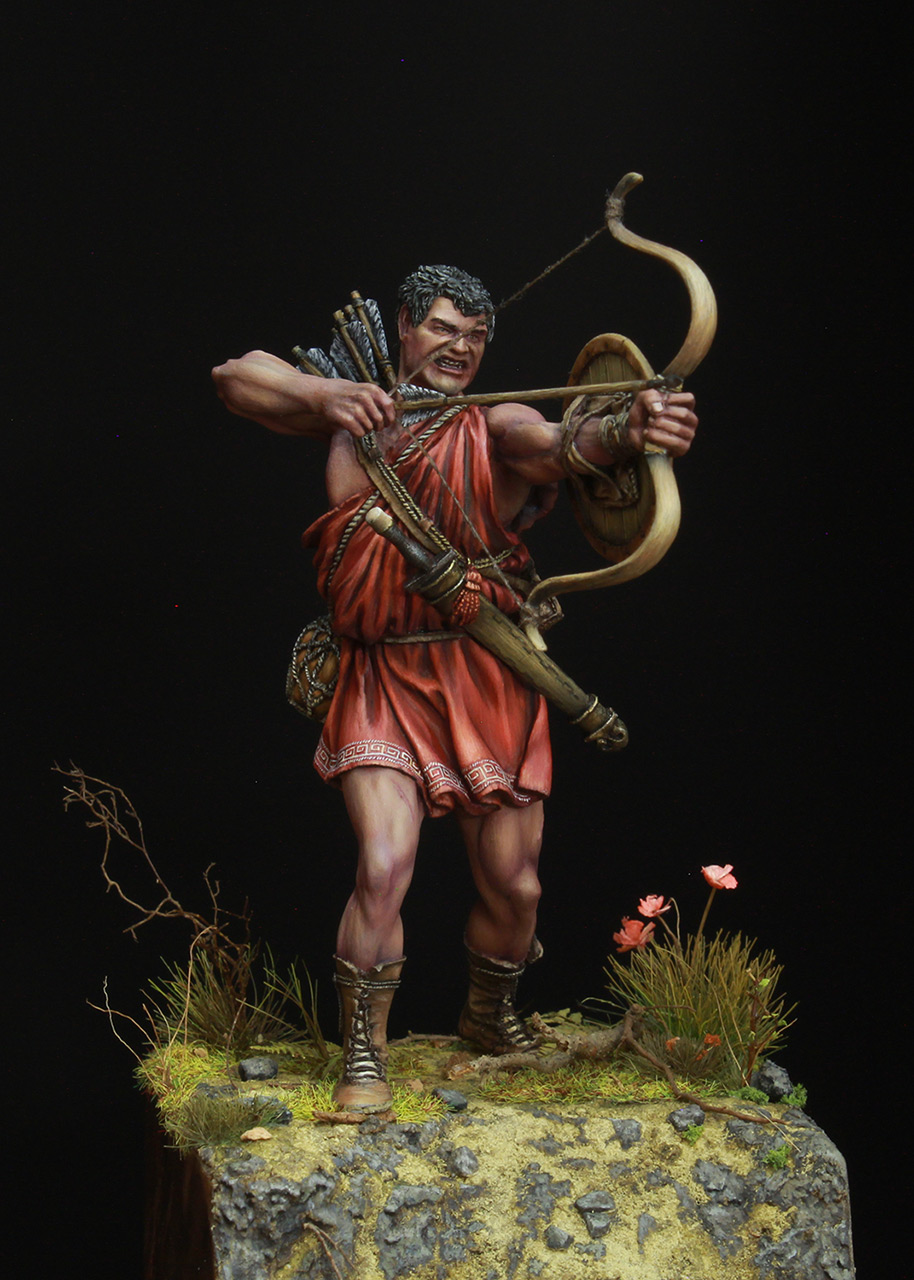Фигурки: Древнегреческий лучник, фото #2