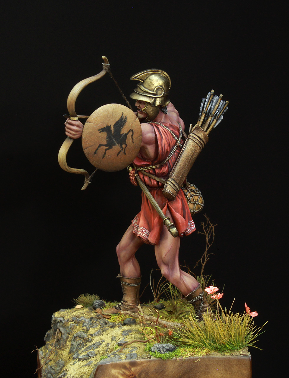 Фигурки: Древнегреческий лучник, фото #3