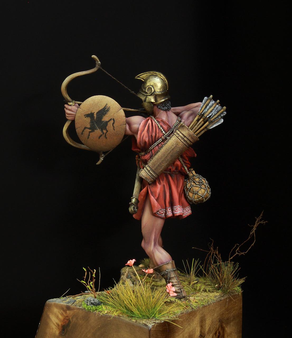 Фигурки: Древнегреческий лучник, фото #4