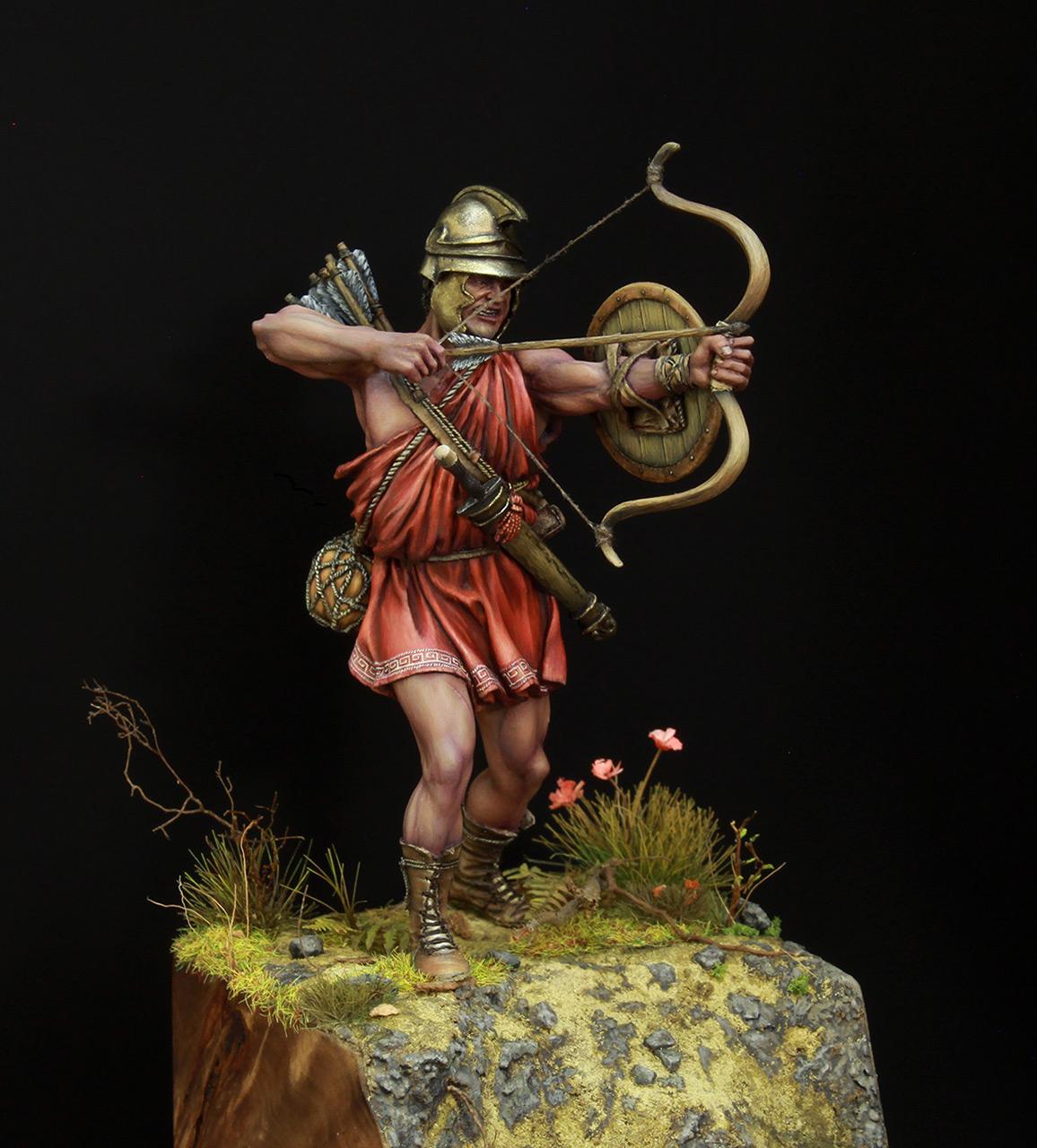 Фигурки: Древнегреческий лучник, фото #6