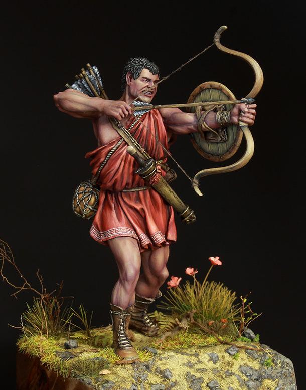 Фигурки: Древнегреческий лучник