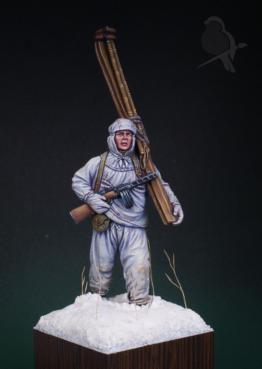 Фигурки: Парень из лыжной пехоты, фото #2
