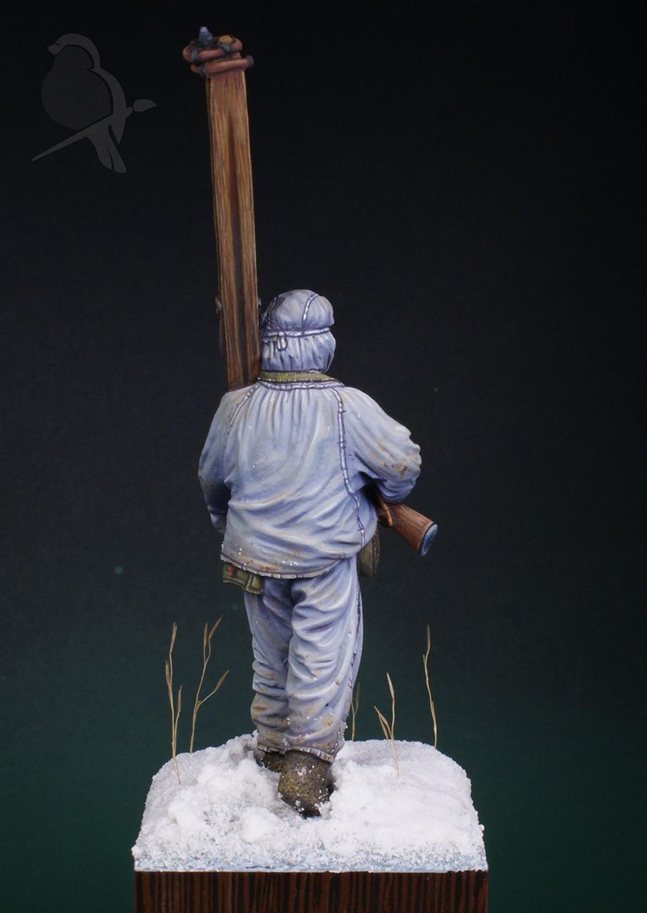 Фигурки: Парень из лыжной пехоты, фото #4