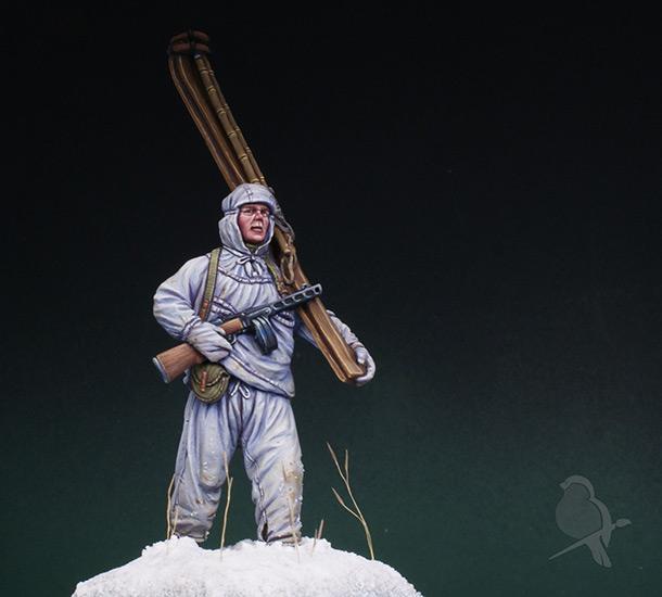 Фигурки: Парень из лыжной пехоты