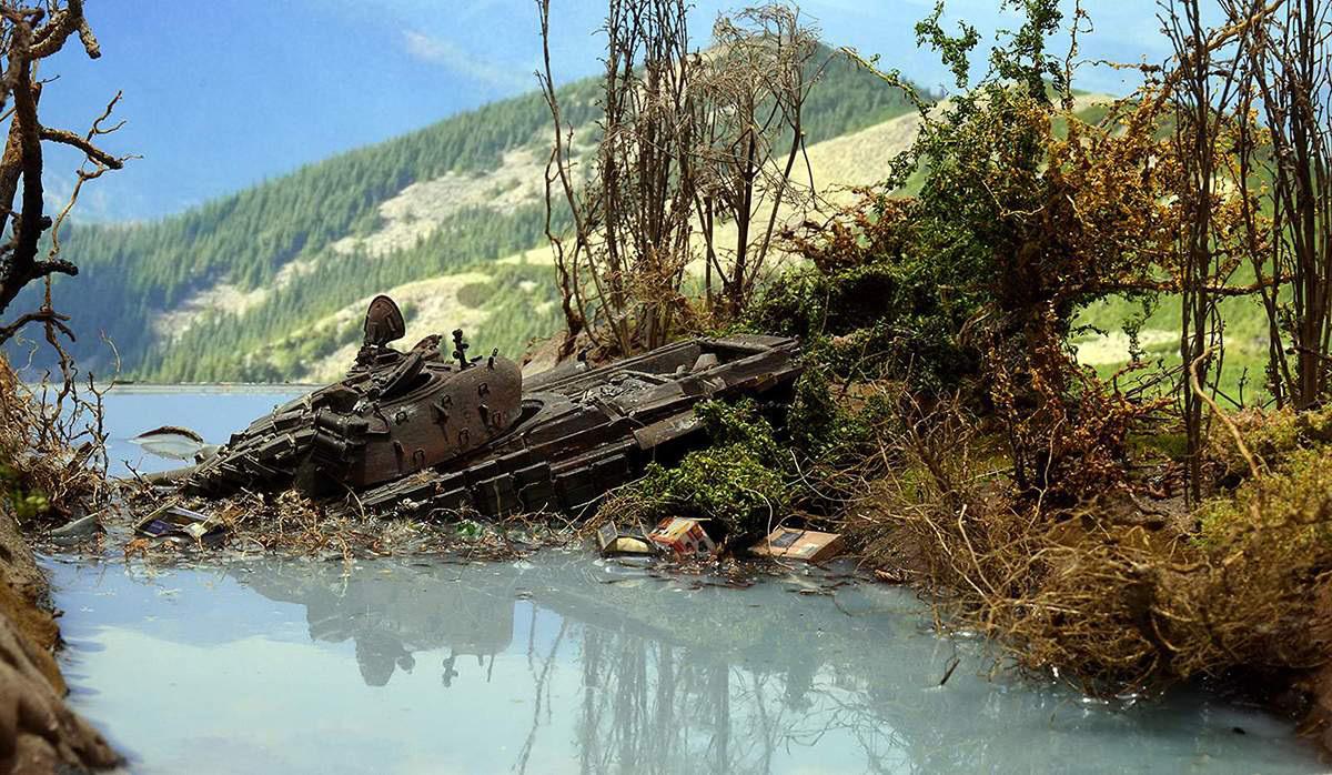 Диорамы и виньетки: Южная Осетия, октябрь 2008-го., фото #1