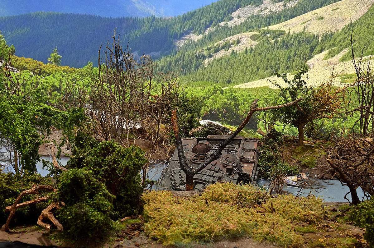 Диорамы и виньетки: Южная Осетия, октябрь 2008-го., фото #17