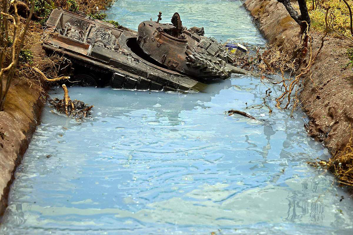 Диорамы и виньетки: Южная Осетия, октябрь 2008-го., фото #23