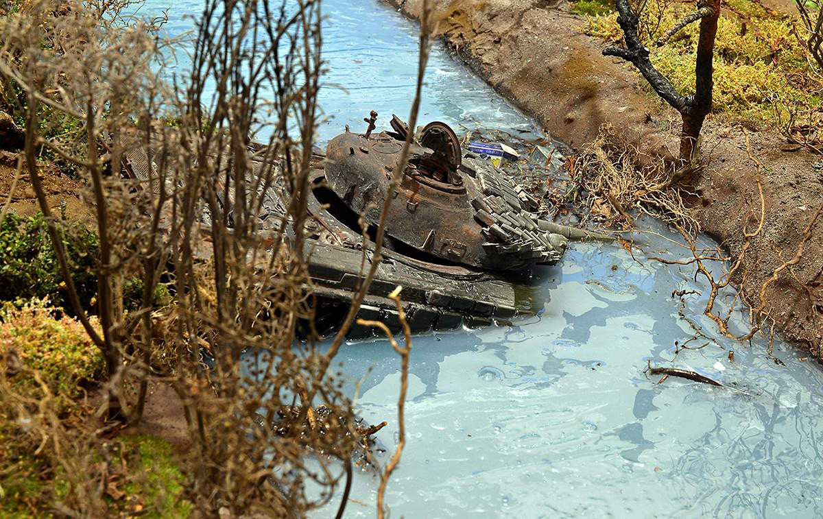 Диорамы и виньетки: Южная Осетия, октябрь 2008-го., фото #30