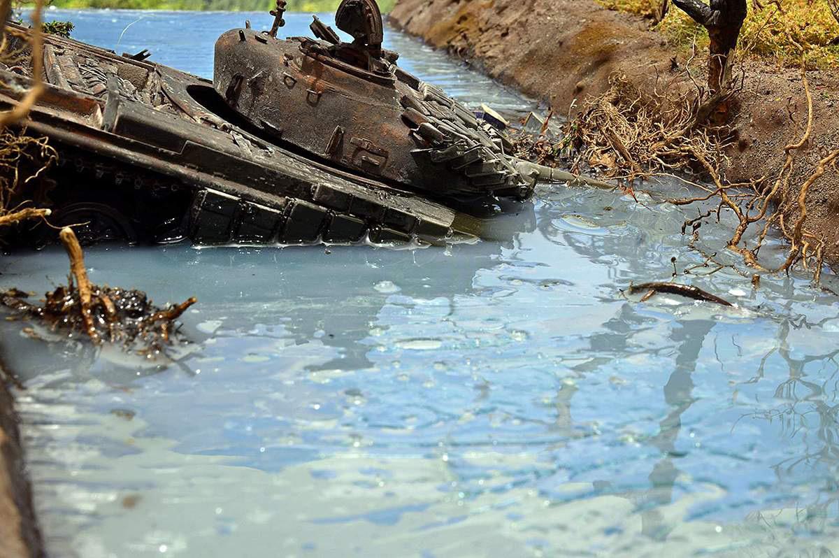 Диорамы и виньетки: Южная Осетия, октябрь 2008-го., фото #4
