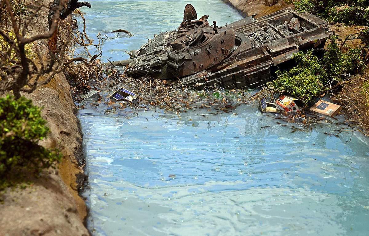 Диорамы и виньетки: Южная Осетия, октябрь 2008-го., фото #5