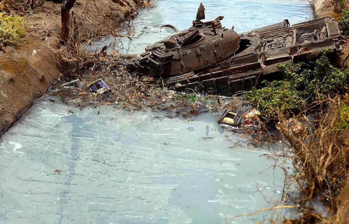 Диорамы и виньетки: Южная Осетия, октябрь 2008-го., фото #6