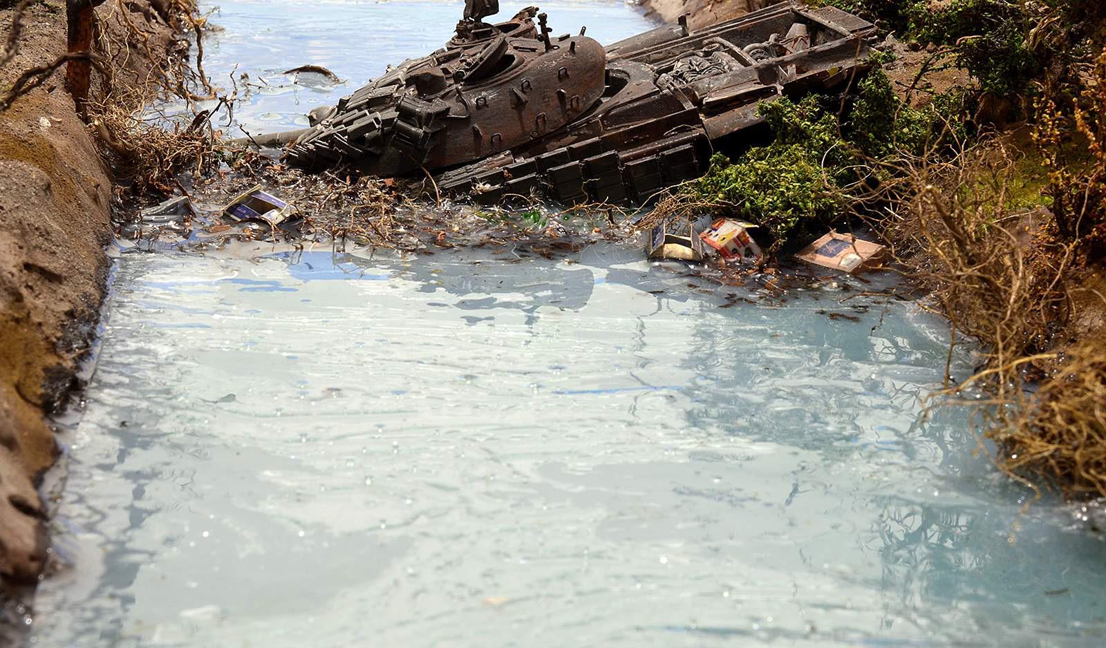 Диорамы и виньетки: Южная Осетия, октябрь 2008-го., фото #8