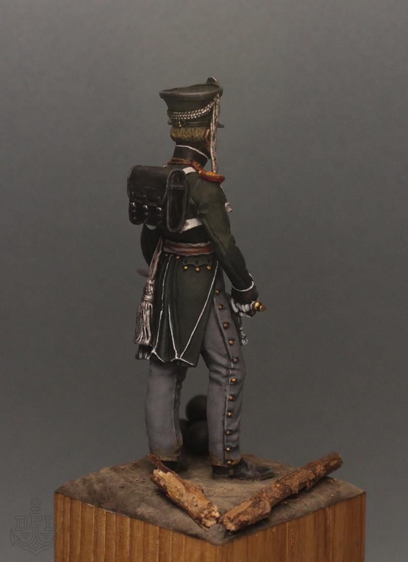 Фигурки:  Поручик артиллерийской легкой полуроты морских полков, 1813-1815 г., фото #6