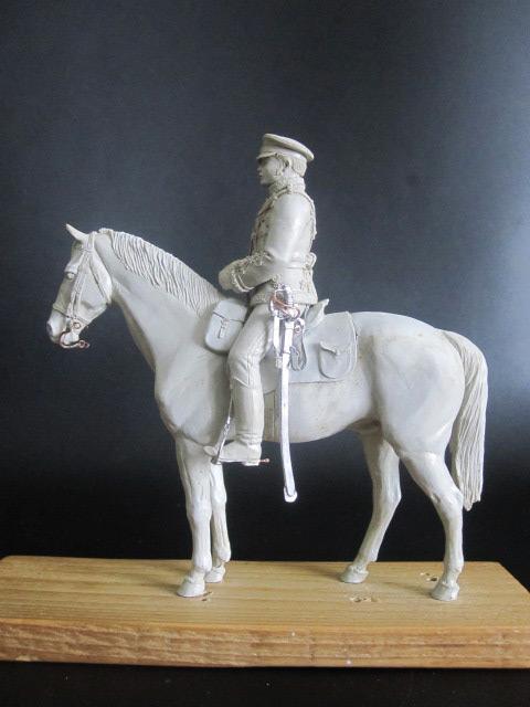 Скульптура: Гусар, 1877 г., фото #1