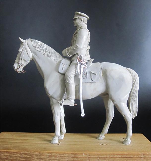 Скульптура: Гусар, 1877 г.