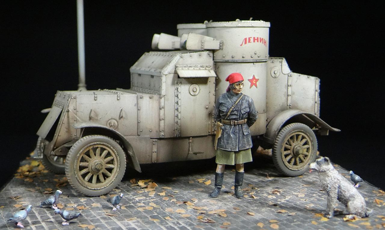 Диорамы и виньетки: «Остин» Красной Армии, фото #2
