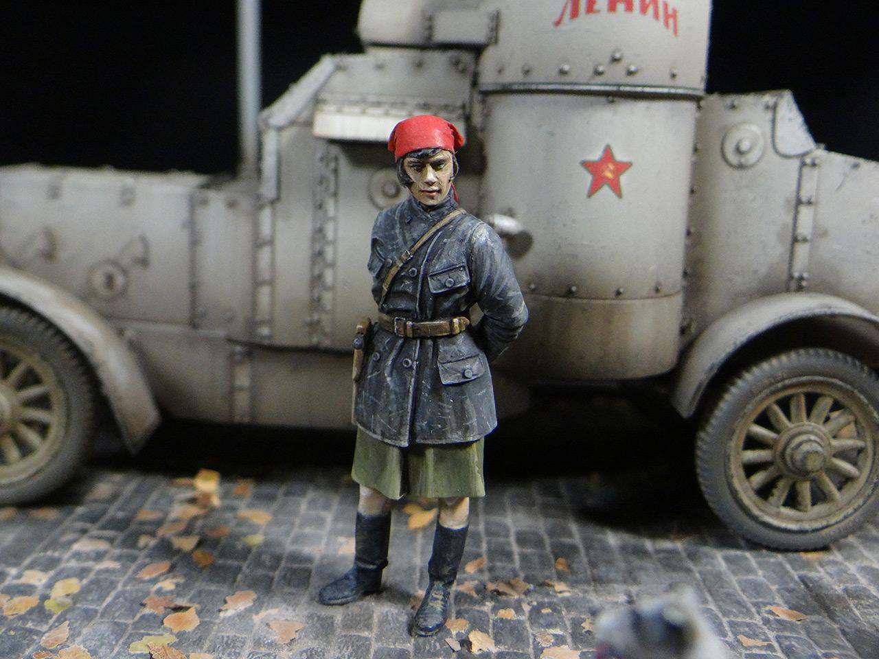 Диорамы и виньетки: «Остин» Красной Армии, фото #5