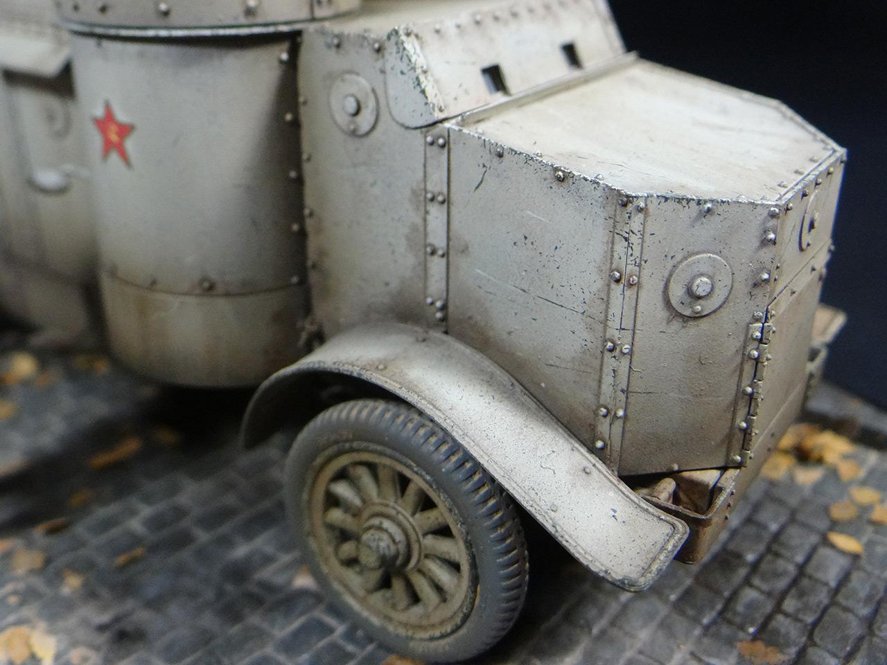 Диорамы и виньетки: «Остин» Красной Армии, фото #6
