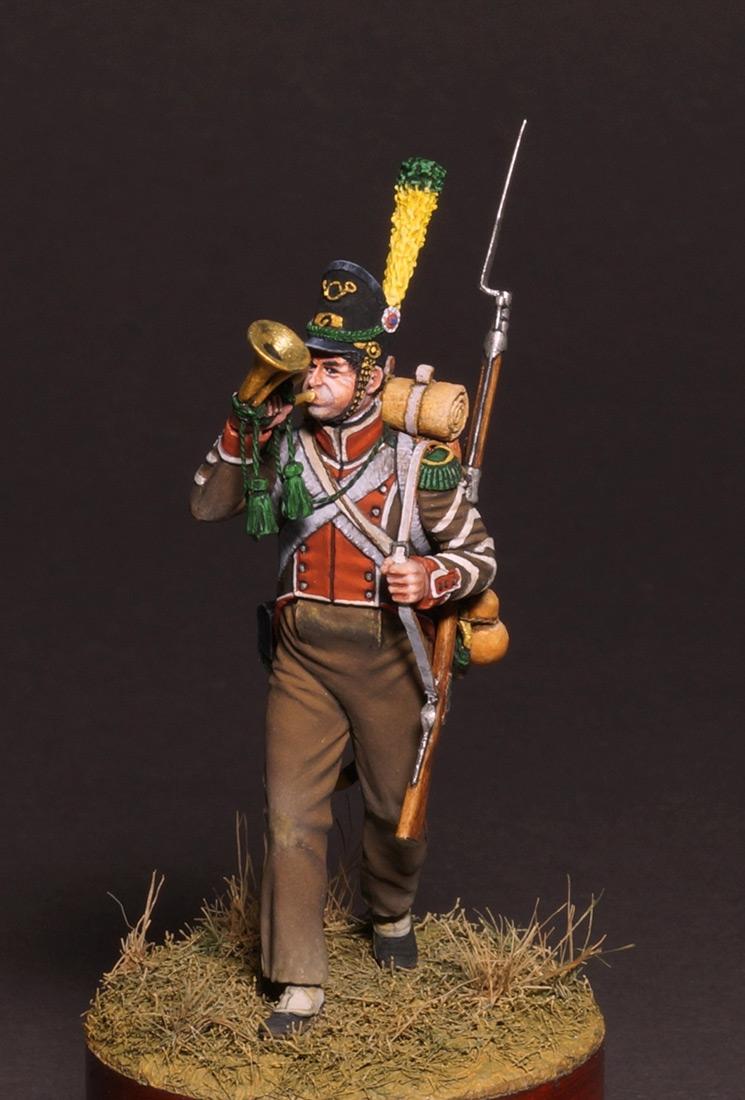 Фигурки: Корнет вольтижеров португальского легиона, фото #1