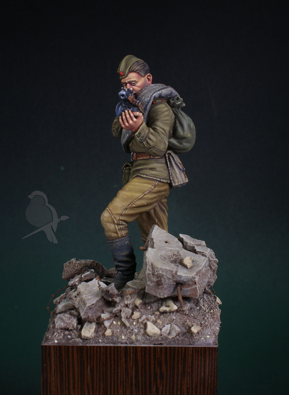 Фигурки: Автоматчик пехоты Красной Армии 43-45г, фото #3