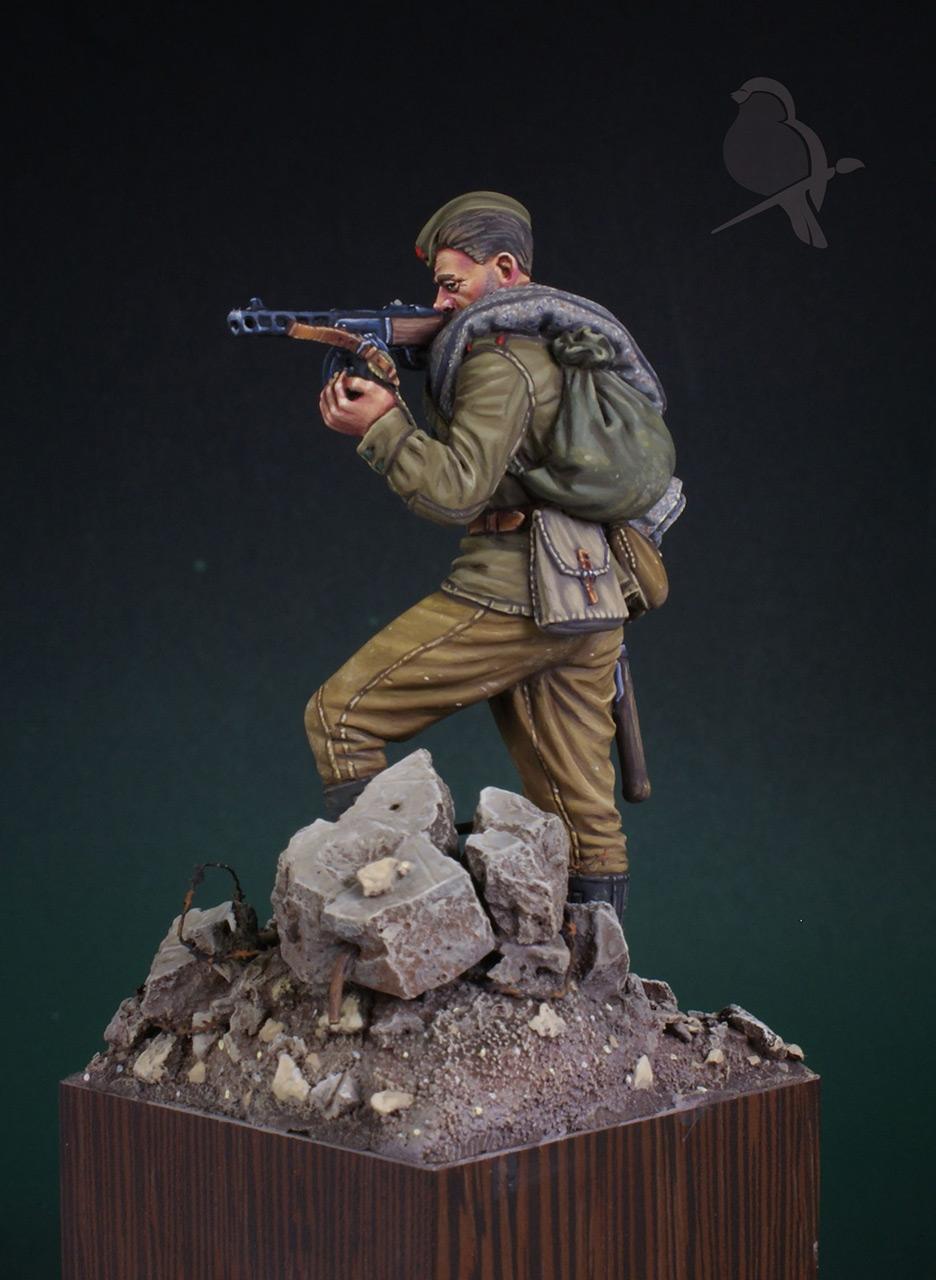 Фигурки: Автоматчик пехоты Красной Армии 43-45г, фото #4