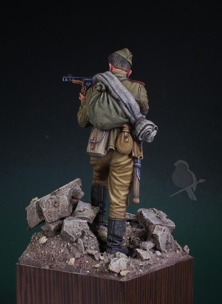 Фигурки: Автоматчик пехоты Красной Армии 43-45г, фото #5