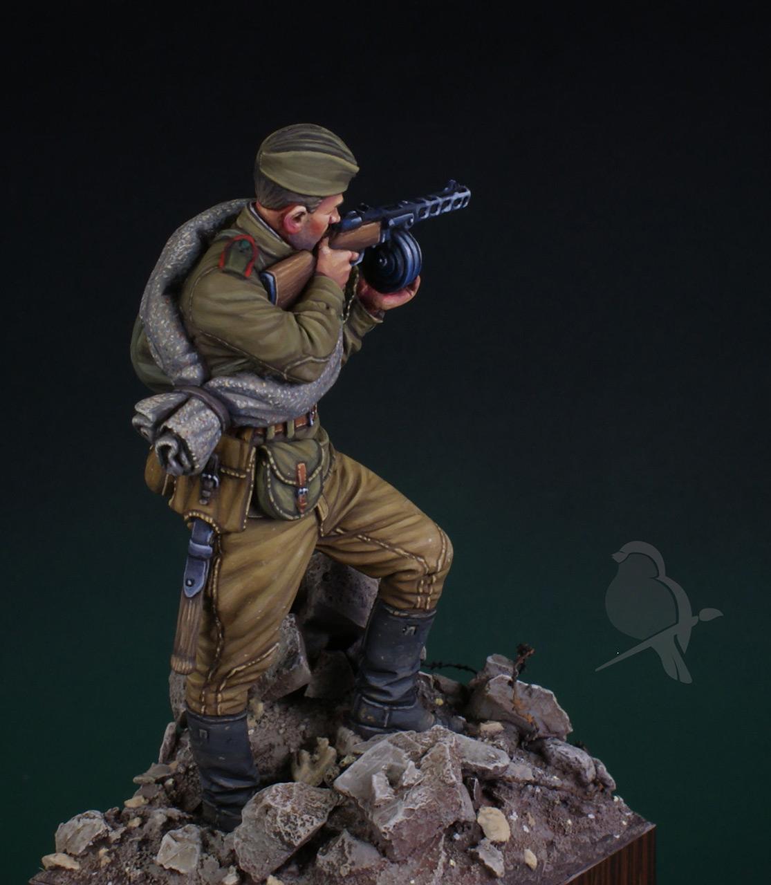 Фигурки: Автоматчик пехоты Красной Армии 43-45г, фото #6