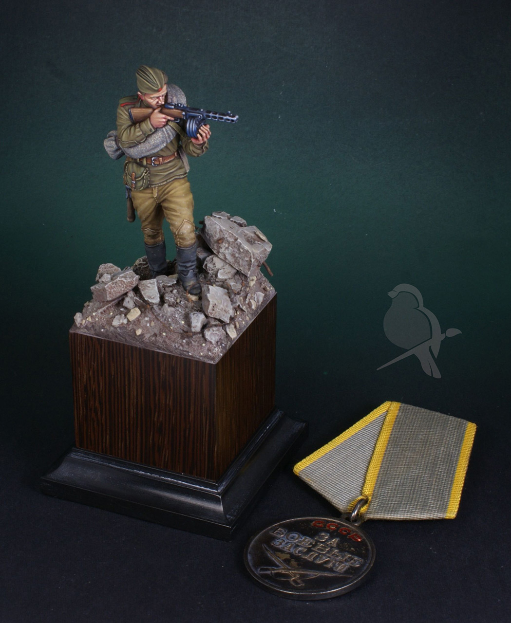 Фигурки: Автоматчик пехоты Красной Армии 43-45г, фото #7