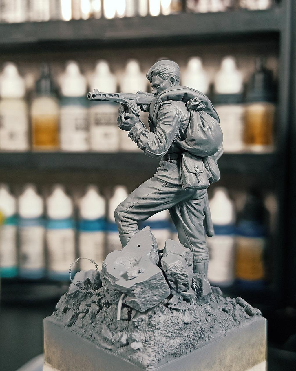 Фигурки: Автоматчик пехоты Красной Армии 43-45г, фото #8